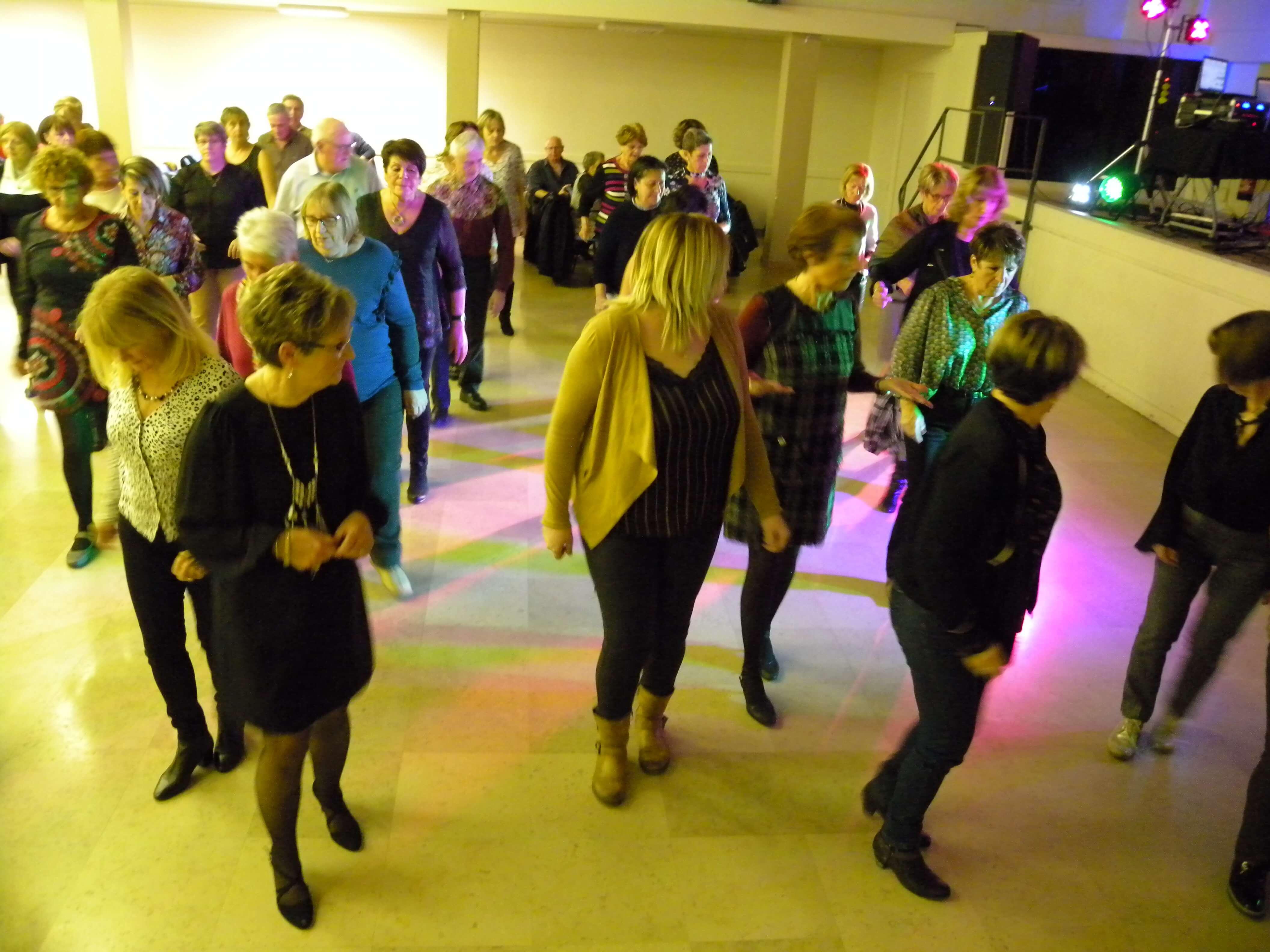 Sliders danse en ligne